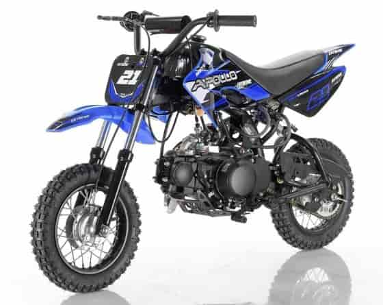 70cc gas dirt bikes for kids with training wheels