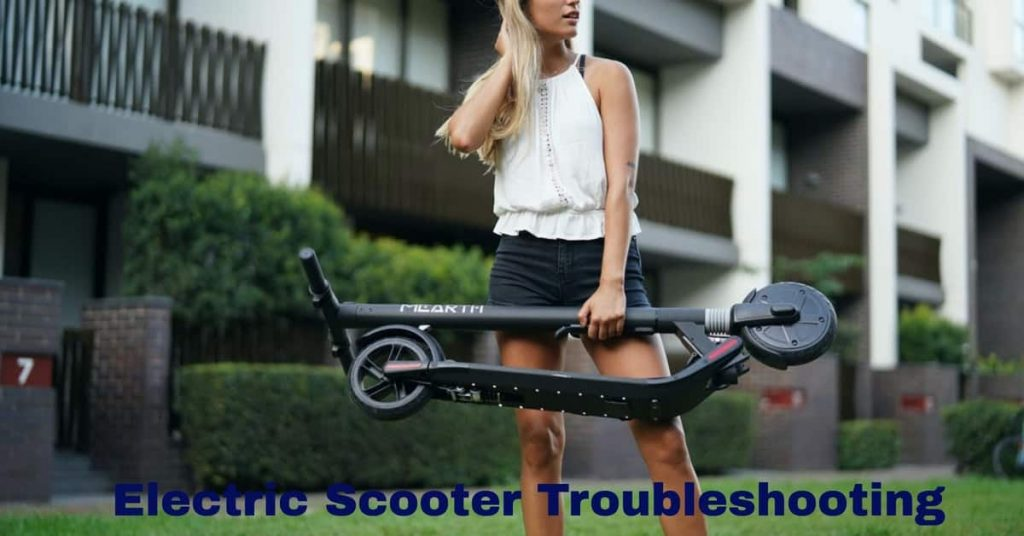 electric scooter troubleshooting
