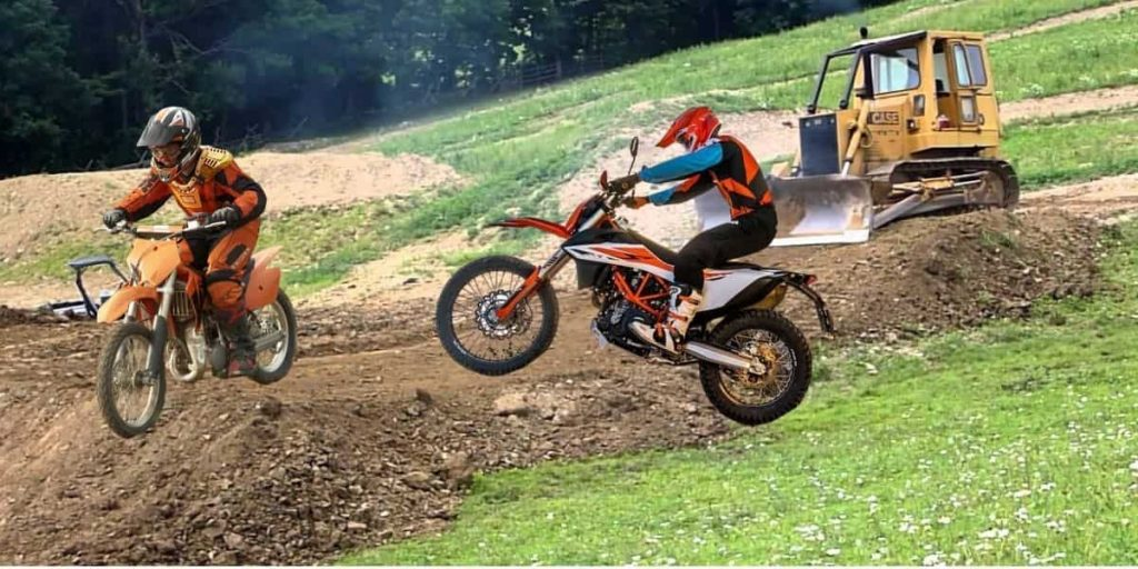 How to Build a Dirt Bike Track